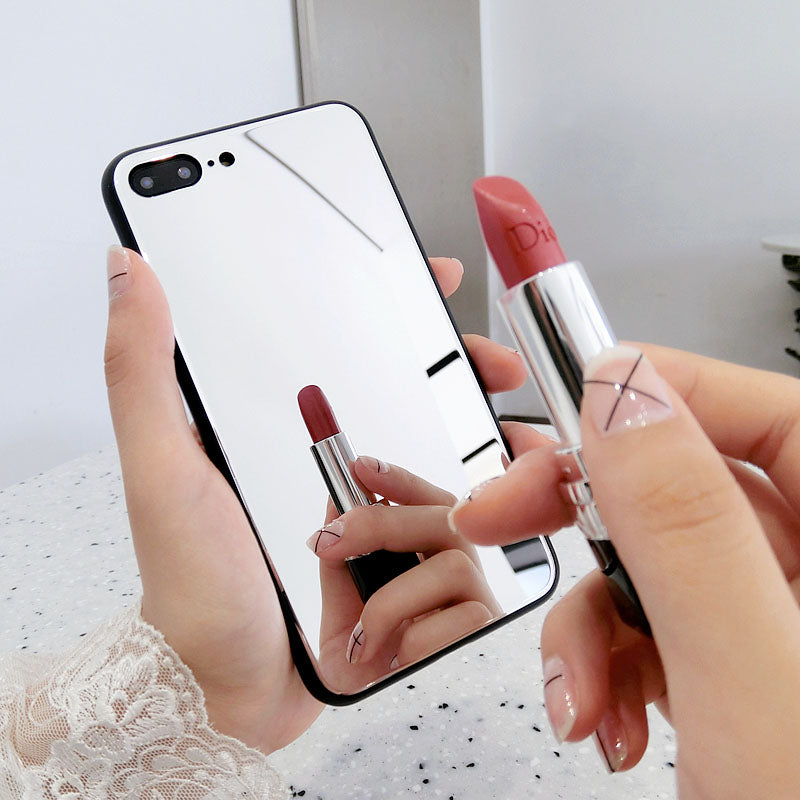 Luxury Makeup Mirror IPhone Case