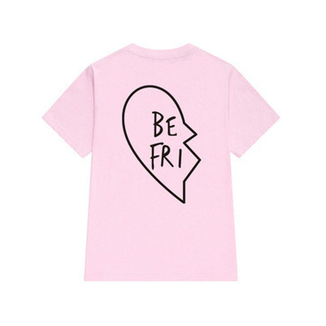 Best Friend Heart Bestie Tee - Caring Collections