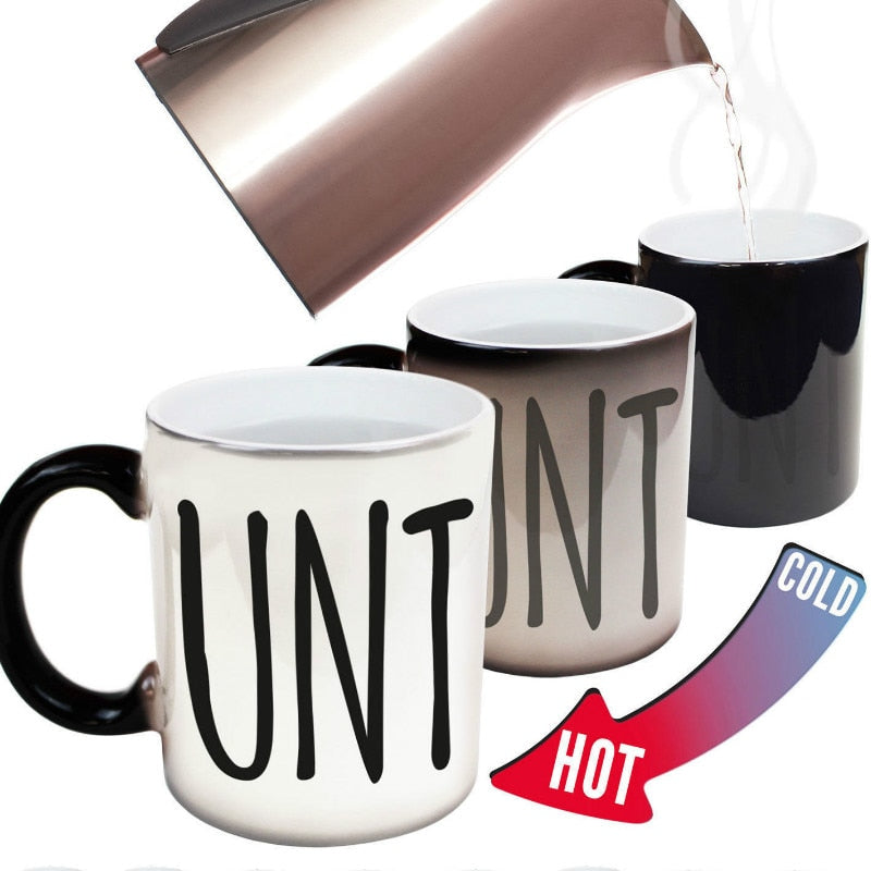 Funny Heat Changing Mug - Caring Collections