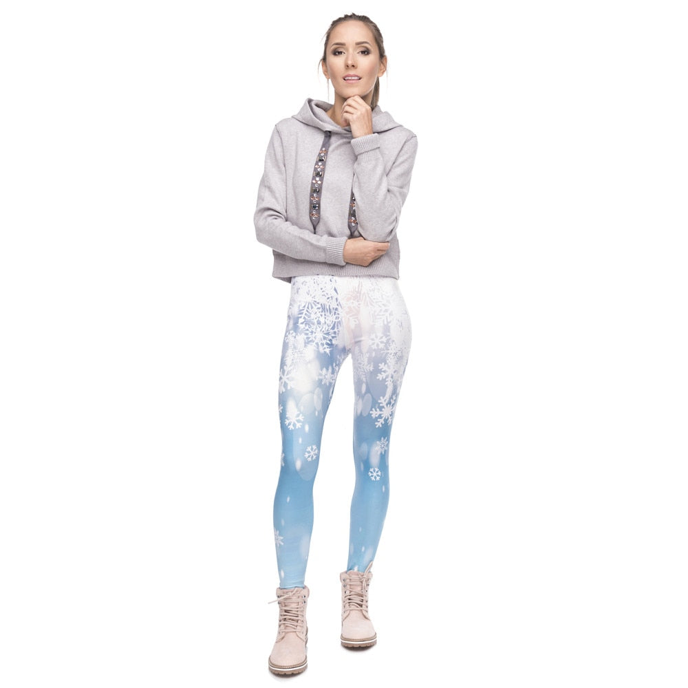 Frozen Themed Leggings