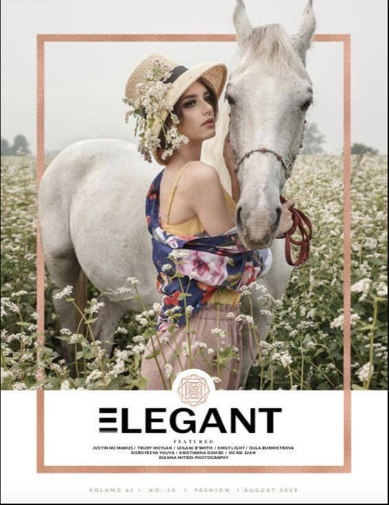 Feature in Elegant magazine