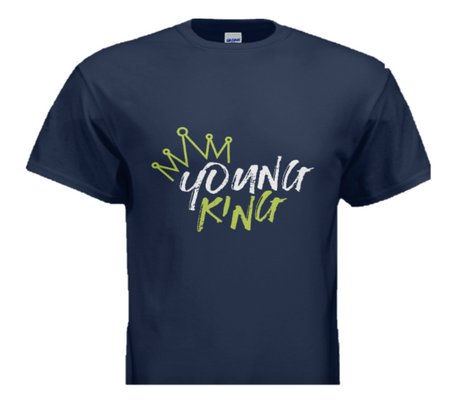 Young King Branded T-Shirt