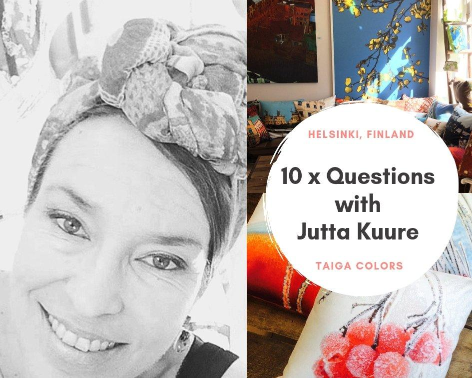 Meet The Retailer: 10 Questions with Jutta Kuure from Taiga Colors