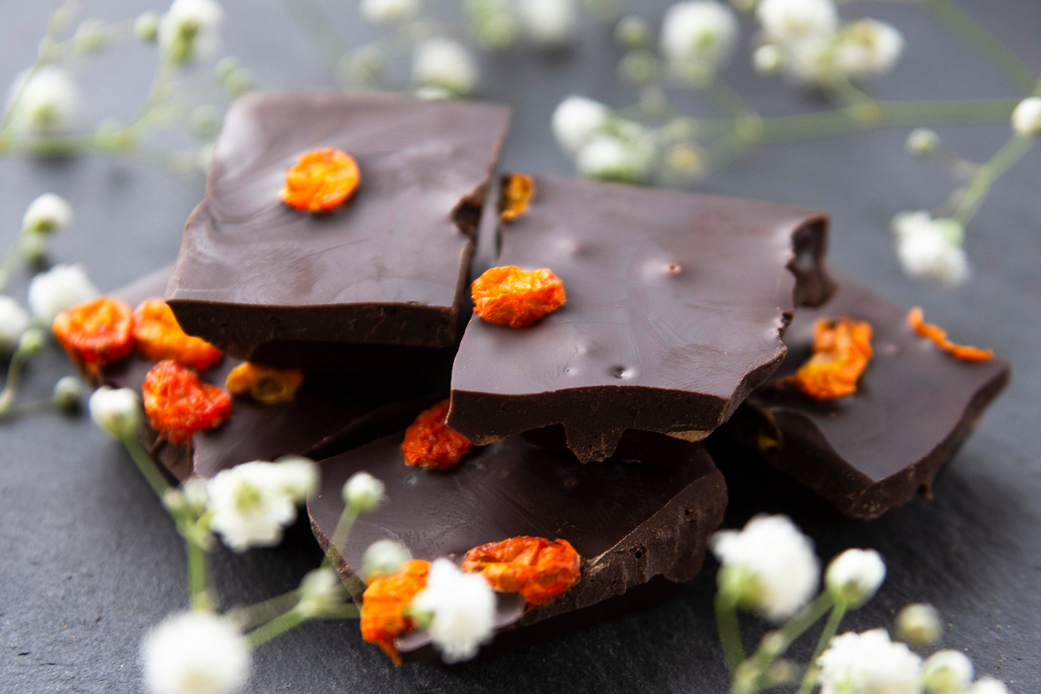 Sea buckthorn benefits - image of sea buckthorn chocolate