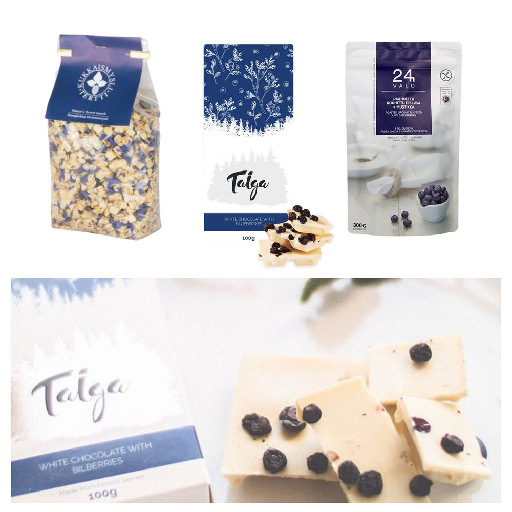 Load image into Gallery viewer, Blue & White - Taiga Chocolate online shop