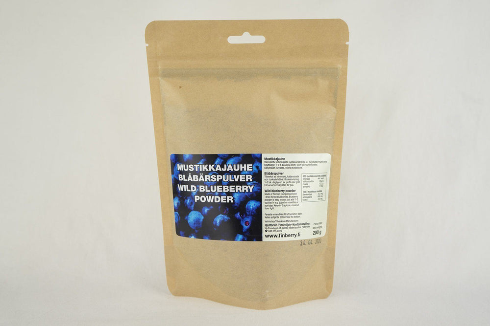 Blueberry Powder by Finberry - Taiga Chocolate online shop