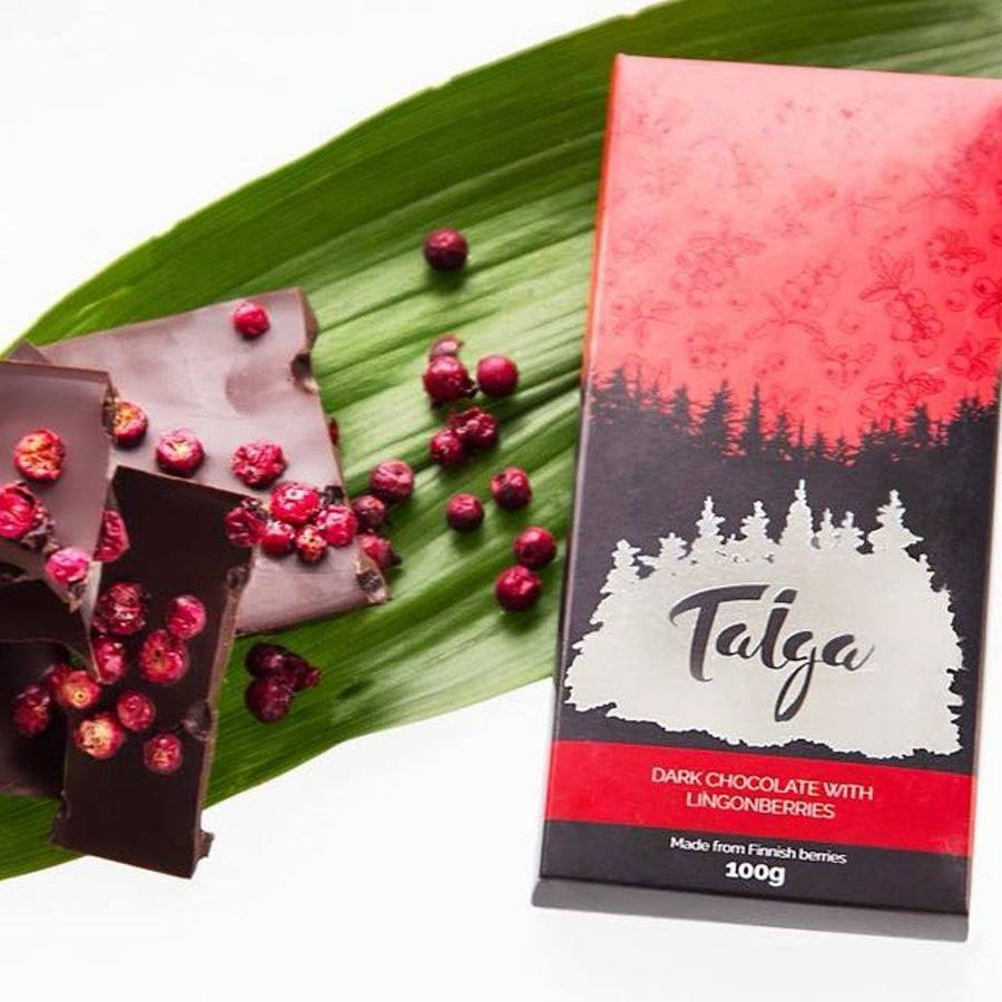 Boost your happiness & Support your local -set Taiga Chocolate online shop