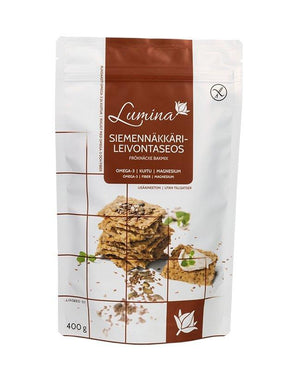 Lumina Seed Crispbread Baking Mix - Taiga Chocolate online shop