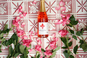 Load image into Gallery viewer, Rose Sparkling Drink 0,75 l (non-alcoholic) - Taiga Chocolate online shop