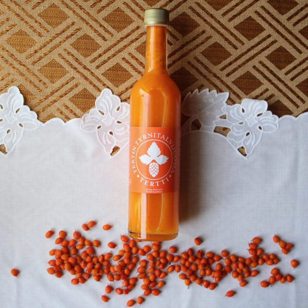 Load image into Gallery viewer, Sea Buckthorn Winter Drink 0.5l Taiga Chocolate online shop