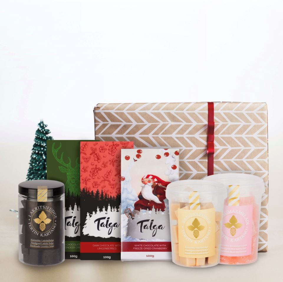 Sweet Christmas Hamper Taiga Chocolate online shop