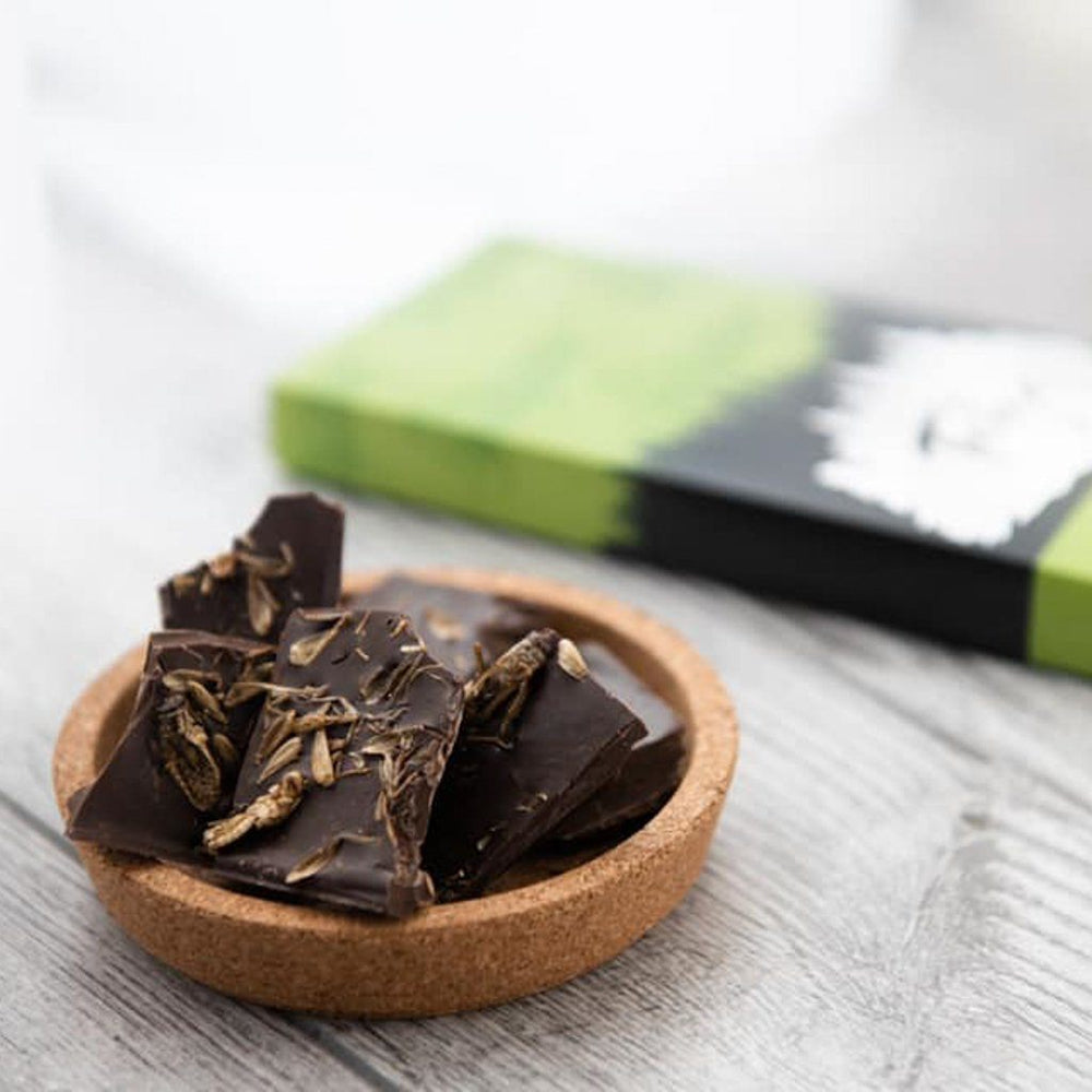 Taiga's Dark Chocolate With Cultivated House Crickets 100g Dark chocolate Taiga Chocolate