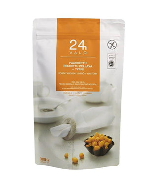 Valo24h Roasted Ground Flaxseed + Sea Buckthorn - Taiga Chocolate online shop