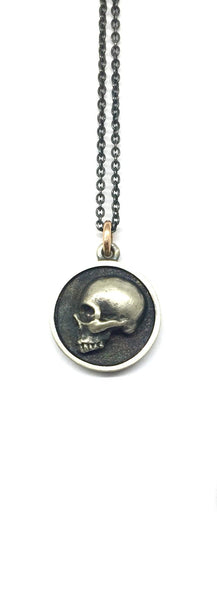 Disc Skull Necklace # 5