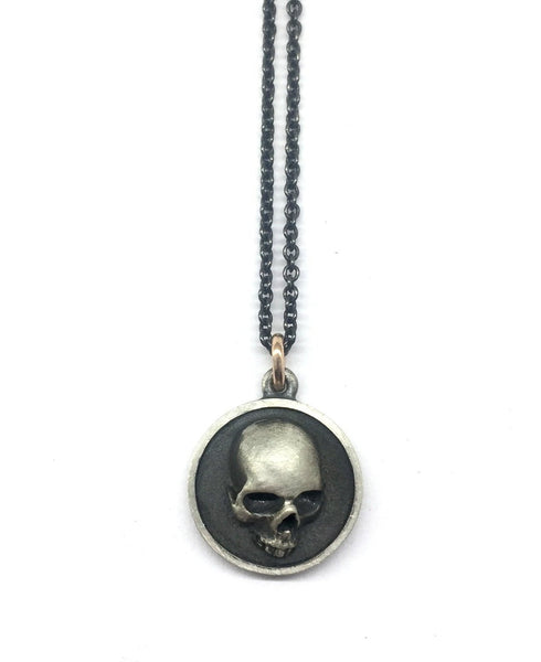 Disc Skull Necklace # 6