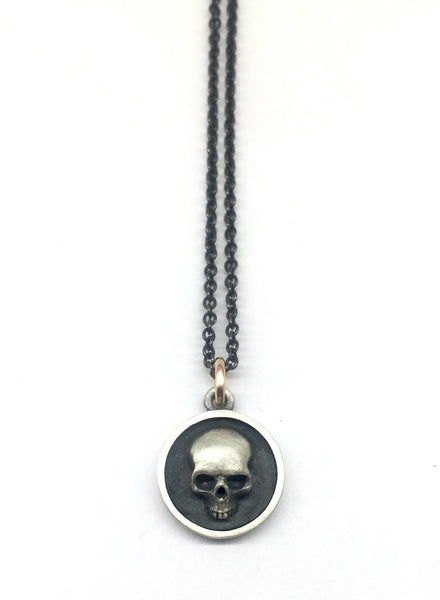 Disc Skull Necklace # 1