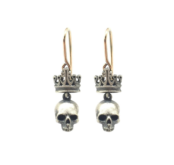 Petit Dead King earrings