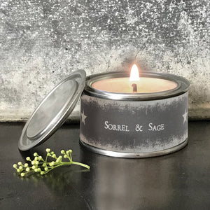 East of India scented candles