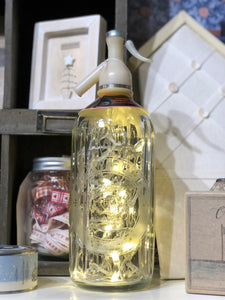 Vintage Soda Syphon Light