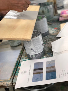 Annie Sloan Chalk Paint Techniques Workshop Part 1