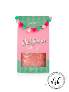 Pom Bath Salts-Wild Berries