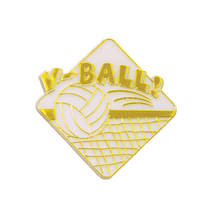 Flat Volleyball Trinket