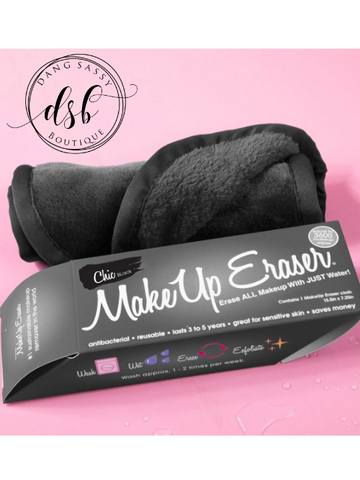 The Original MakeUp Eraser - Chic Black