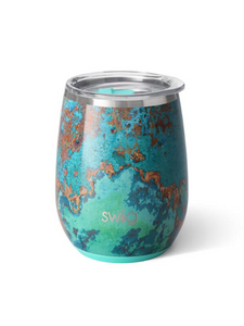 Swig-Copper Patina-Wine Cup