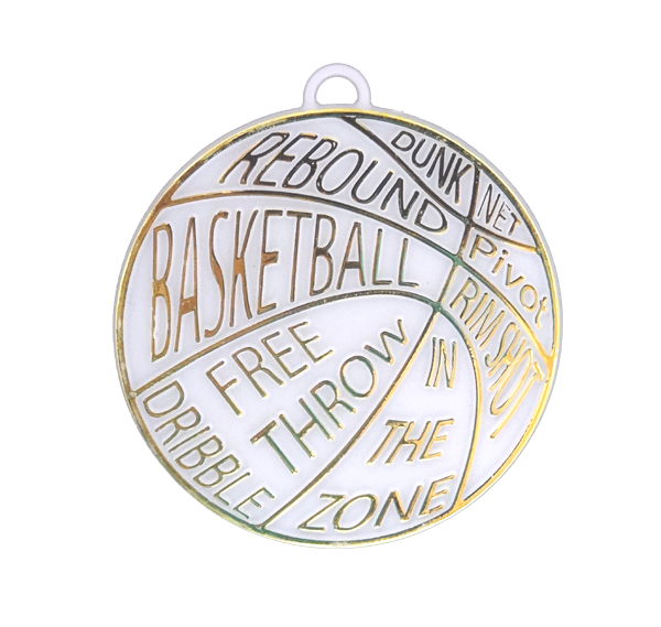 Basketball Lingo Trinket