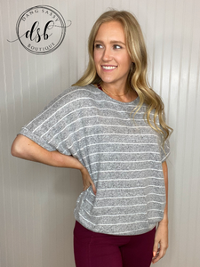 The Jessie Top - Grey