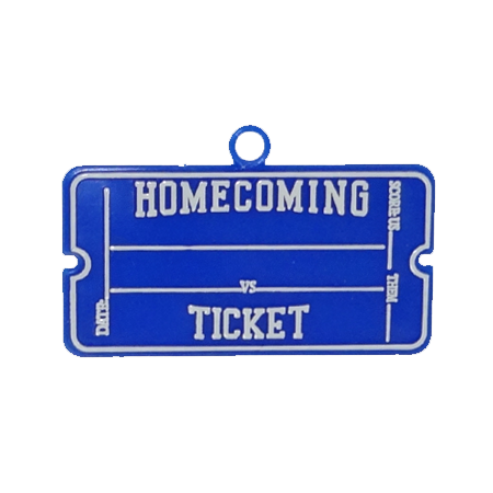 Homecoming Ticket Trinket