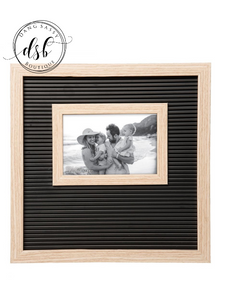 Black Letter Board Frame