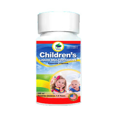 Dr Natural Healing Toddlers Liquid Multivitamins
