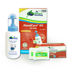 NasalCare  6 Oz (180 ml) Irrigator & 30 ct Kit