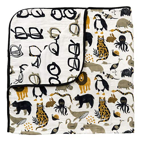 Zoology Quilt by Clementine Kids