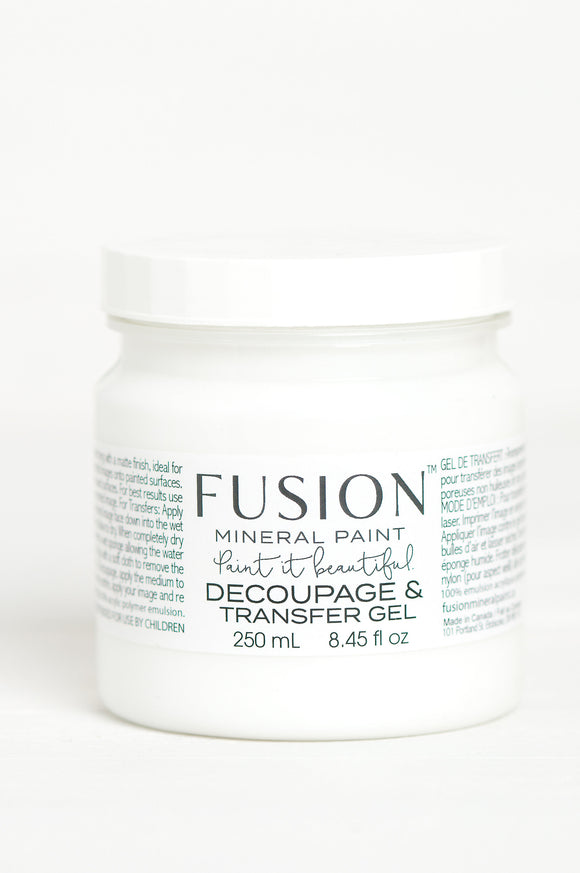 Fusion Mineral Paint - Decoupage & Transfer Gel