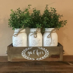 Mason Jars & Planter Workshop
