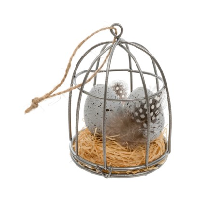 Bird's Egg/ Cage Ornament