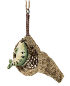Fish In Net Ornament