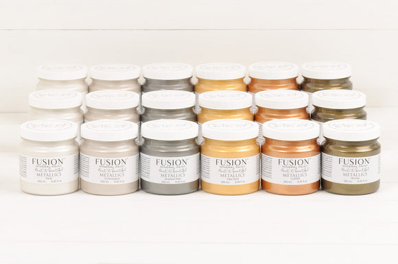 Fusion Mineral Paint - Metallics