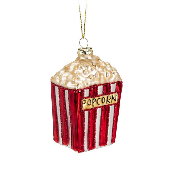 Bag Of Popcorn Ornament