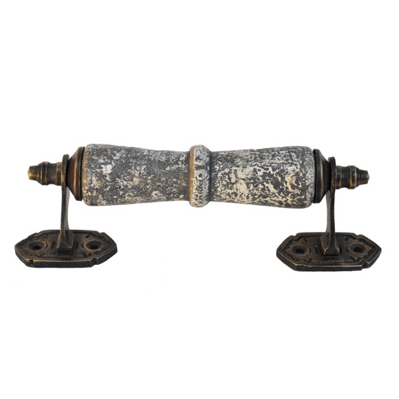 Antiqued Decorative Ornate Handle