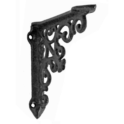 Victorian Shelf Bracket - Black