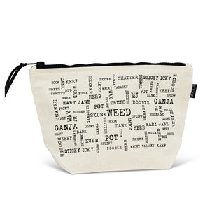 Weed Words Pouch