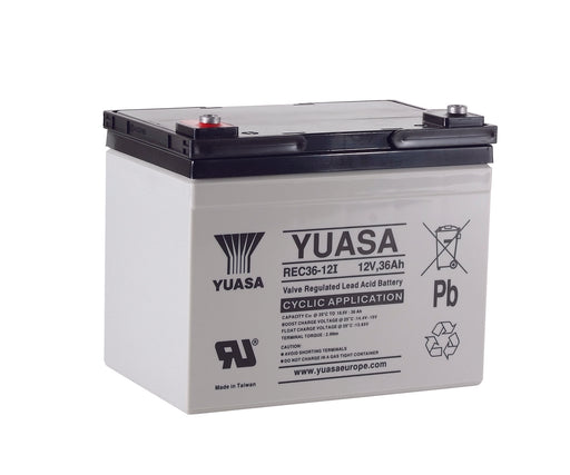 Yuasa REC36-12 - Cyclic / Industrial Battery