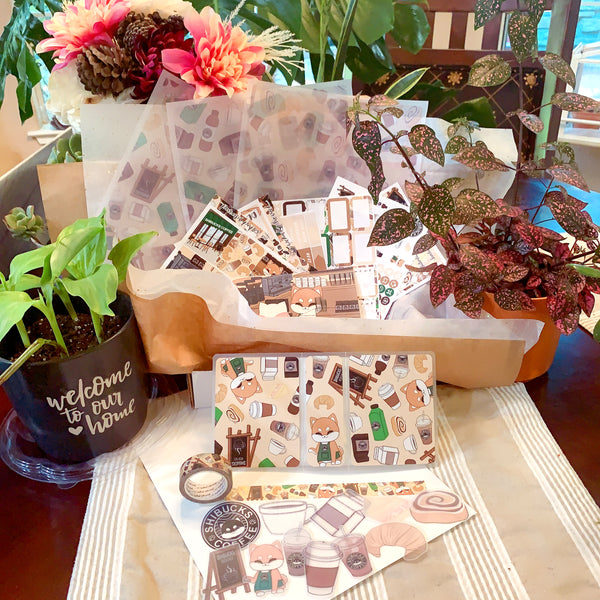 Parasol Paper Third Anniversary Box -- Shibucks Coffee [USE WILD COLLAB SALE CODE]