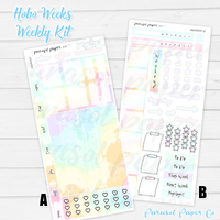 Hobo Weeks Kits | 001 | Pastel Swirls