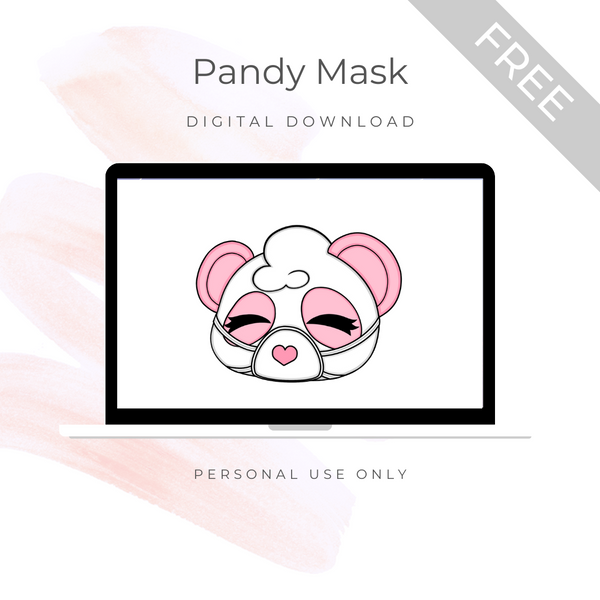 [FREE] Digital Download - Pandy Mask