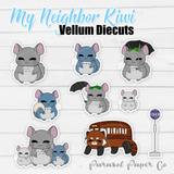 My Neighbor Kiwi - Vellum Die Cuts