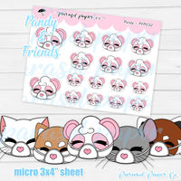Pandy and Friends - Mask - PF032